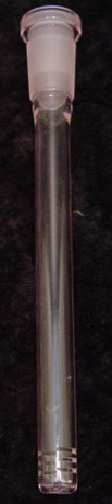 7 inch Pink Diffused Down Stem-Image 1