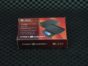 Fast Weigh M-500 Digital Pocket Tobacco Scale-Image 1