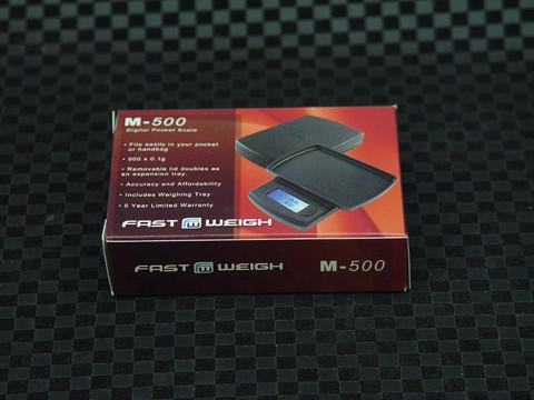 Fast Weigh M-500 Digital Pocket Tobacco Scale-Image 1