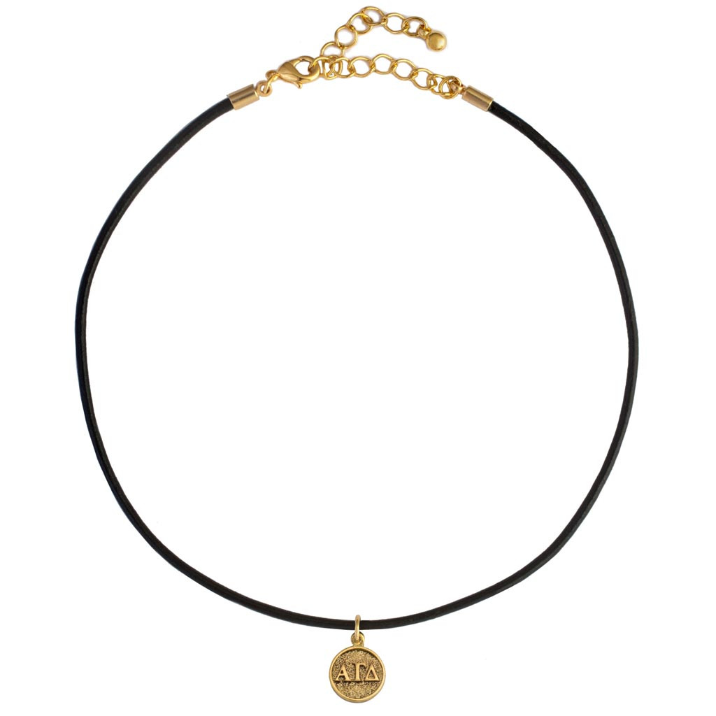 1b70bac51d54a ALPHA GAMMA DELTA CHOKER NECKLACE