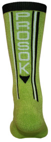 Prosok Team Bamboo Crew Sock V2 High Performance Lime Green Black L/XL