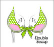 Want to keep things front and center? It's up to you to position your Scoops to get the biggest bang for your breasts. Get Lift. Enhance Cleavage. For bras, swimsuits, dresses, gowns, even bridal.  Sew in for permanent push up, or use Double Scoop Double Sided Tape.