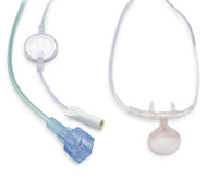 Salter Labs Capnography (Pediatric) Oral/Nasal Cannula, 7' O2 Supply Line, 6' EtCO2 Sampling Line