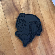 Duke City Operator Black on Black PVC patch