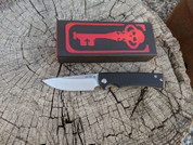 Chaves Knives Liberation 229, Black G10 show side