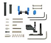 Armaspec Lower Parts Kit for AR-10 Platform Blue