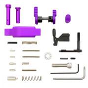 Armaspec Lower Parts Kit Purple + Trigger Guard for AR-15 Platform