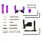 Armaspec Lower Parts Kit Purple  for AR-15 Platform