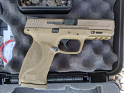 Smith & Wesson LE M&P 9 M2.0 9mm FDE