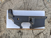 Doublestar Striped Lower receiver for AR-15. Black