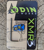 Odin Works  Extended Magazine Release  in anodized Blue