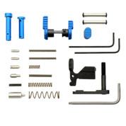 Armaspec Lower Parts Kit Blue for AR-15 Platform