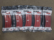DuraMag 5.56 30rnd magazines (5) for AR15 RED Anodized 5 pack.