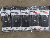 DuraMag 5.56 30rnd magazines (5) for AR15 Black Anodized 5 pack.