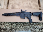 "Radical Firearms RF- 15 Pistol, 10.3"" 5.56 with SBA3, Truglo sight"