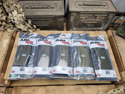 DuraMag 5.56 30rnd magazines (5) for AR15 OD Green Anodized 5 pack.