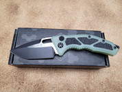 Heretic Medusa Auto Jade and Black Tanto