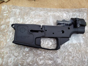 APF AR-15 Striped Lower Receiver with Integrated Side Folder.