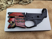 Spikes Tactical Red Samurai AR-15 Stripped Lower Receiver