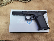 Loan Wolf, Timber Wolf Compact (G19) Textured Built Frame, Glock 19 Pattern