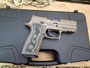 Sig Sauer P320 AXGCA Scorpion Custom Works 9mm.