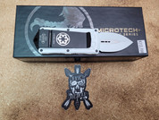 Microtech White trooper Exocet, Double Edge