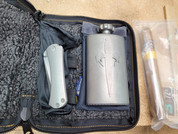 Marfione Borka Selection Set (Whiskey, SBTF Multi-Grind Tanto Knife, Cigar, and Flask)