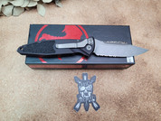 Microtech Socom Elite Auto with Partially Serrated Edge