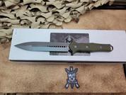 Heretic Knives Nephilim, Double Edge, Battleworn