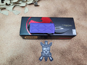 Microtech Purple Exocet, Double Edged