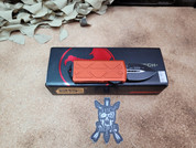 Microtech Orange Exocet, Double Edged