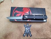 Microtech Ultratech Single Edge Stonewash Standard.