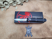 Microtech Ultratech  Single Edge Stonewashed Partially Serrated