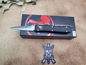Microtech Ultratech  Bayonet with Stonewashed finish.