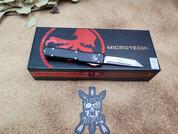 Microtech Black UTX-70 Stonewash Tanto Blade