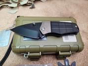 Medford Knife Sherman in  Black PVD
