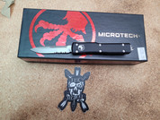 Microtech UTX-70 Single Edge Partially Serrated blade
