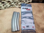 DuraMag 5.56 30rnd Magazine for AR15 Light Gray Anodized