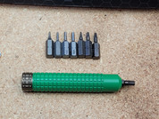 Heretic Knives Green Stainless Tool Kit