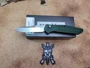 Benchmade Osborne Auto Forest Green Standard Blade