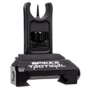 Spikes Tactical ST Front Folding Micro Sight Gen 2, Black