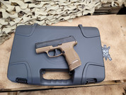 Sig Sauer Talo Exclusive P365 with Coyote frame