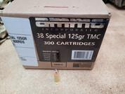 Ammo Inc. 38 Special 125 Grain TMC 300Rd Box