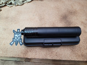 CGS Group MOD9  9mm Aluminum and Stainless Steel Suppressor