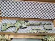Used LWRC M6 Rifle with Trijicon Acog and Custom Green Durakote Finish