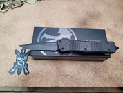 Microtech Signature Series Combat Troodon Bowie Carbon Fiber