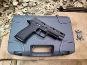 Sig Sauer P320 AGXF Pro, Optic Cut 9mm with G10 Grips.