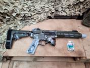 Sharps Bros. Overthrow .350 Legend Pistol with Bounty Hunter Cerakote, Used