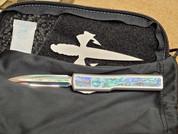 Marfione Custom UTX-70 Double Edge, Abalone