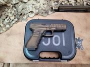 Glock 17 Gen 3, 9mm Pistol in Burnt Bronze Battle Worn Cerakote